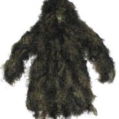 Ghillie suit camuflaj MFH Woodland - Echipament Airsoft