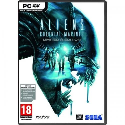 Aliens Colonial Marines Limited Edition PC foto mare
