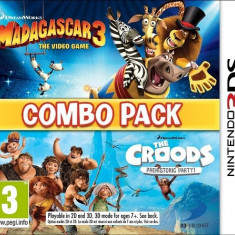 Madagascar 3/Croods: Prehistoric Combo Pack 3DS