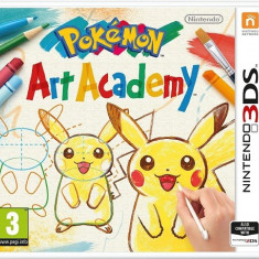 Pokemon Art Academy 3DS, Actiune, Toate varstele, Single player