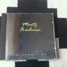 Marty Friedman ‎Introduction album cd disc muzica rock 1994 editie vest