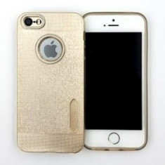 Husa TPU Water Cube Samsung Galaxy S6 Edge GOLD