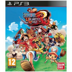 One Piece Unlimited World Red + DLC PS3