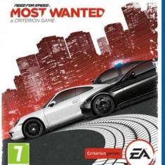 Need For Speed Most Wanted PS Vita - Jocuri PS Vita, Curse auto-moto, 12+, Single player