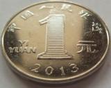 Moneda 1 Yi Yuan - CHINA, anul 2013 *cod 4139 a.UNC, Asia