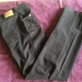 Pantaloni dama CARLA FERRONI, mas. 44, Culoare: Negru, Lungi, Bumbac