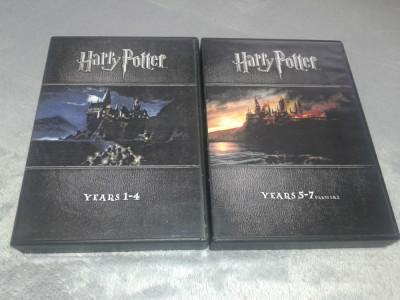 Harry Potter - 16 dvd-uri, anii 1-7 subtitrate romana foto