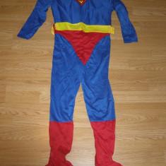 Costum carnaval serbare superman pentru copii de 10-11 ani, Marime: Masura unica, Culoare: Din imagine
