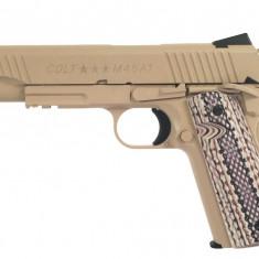 Replica COLT M45 A1 CO2 arma airsoft pusca pistol aer comprimat sniper shotgun