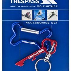 Breloc Trespass Keybone Rosu Albastru