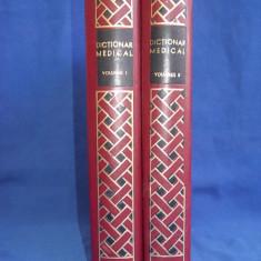 P. SIMICI / A. MINCU - DICTIONAR MEDICAL * [ 2 VOL. ] - 1970