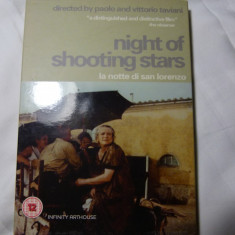 Night of shooting stars - Paolo and Victtorio Taviani DVD - Film Colectie Altele, Engleza