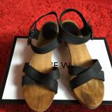 Sandale – ZARA - Sandale dama Zara, Culoare: Negru, Marime: 38