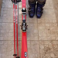 Set Ski Salomon ( ski, bete, clapari 44)