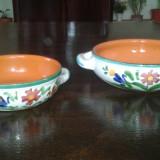 Set doua vase ceramica Albisola COOP STOV Italia