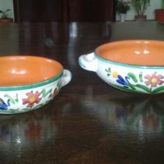 Set doua vase ceramica Albisola COOP STOV Italia - Arta Ceramica