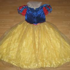 Costum carnaval serbare alba ca zapada pentru adulti marime L - Costum Halloween, Marime: Masura unica, Culoare: Din imagine