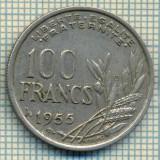 9298 MONEDA- FRANTA - 100 FRANCS -anul 1955 B -starea care se vede, Europa