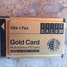 modem PCMCIA - Gold card -