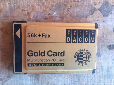 modem PCMCIA - Gold card - foto