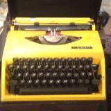 Masina de scris mecanica Adler tippa - Metal/Fonta