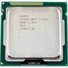 Procesor INTEL Quad Core i5 2400 3.1Ghz/Turbo 3.4Ghz, Sandy Bridge, sk 1155 - Procesor PC Intel, Intel Core i5, Numar nuclee: 4, Peste 3.0 GHz