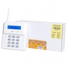 CENTRALA DE ALARMA WIRELESS CU MODUL GSM ELMES CB32GN - Sisteme de alarma