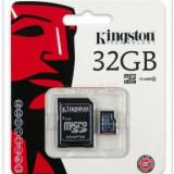 Kingston Card microSDHC 32GB (Class 4) + Adaptor