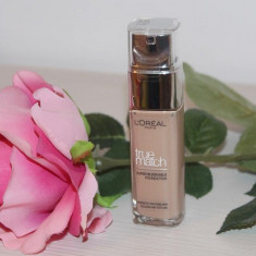 Fond de ten L'oreal Paris Loreal True Match 5N Sand, Lichid