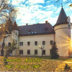 Carte postala CP SM026 Carei - Castelul Karolyi - necirculata