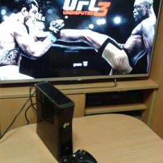 Xbox 360,modat ,250 gb , 11  jocuri, 1 maneta,FIFA 19 , mortal kombat,gta 5