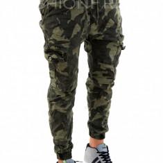 Pantaloni camuflaj - COLECTIE NOUA - pantaloni barbati - 7865D4, Marime: 30, 31, Culoare: Din imagine