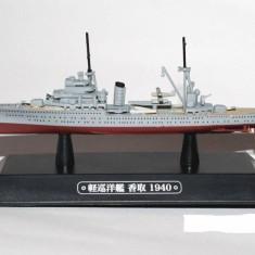Macheta Crucisator Katori - Japan 1940 scara 1:1100 - Macheta Navala