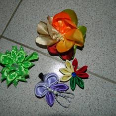 Set de 4 agrafe de par, agrafe par cu clipsuri, agrafe colorate fetite, 4 clame - Clama de par Copii