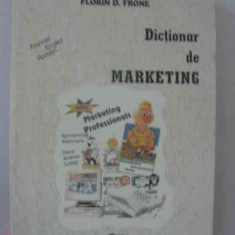 LICHIDARE-Dictionar de marketing - Autor : Florin D. Frone - 11141 - Carte Marketing