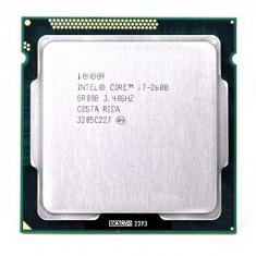 Procesor Core i7 2600 3.40Ghz - Turbo 3.8Ghz, Sandy Bridge, 95W, socket 1155 - Procesor PC Intel, Intel, Intel Core i7, Numar nuclee: 4, Peste 3.0 GHz