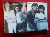 2 Fotografii cu membri formatiei Modern Talking , 8,5x11,5 cm