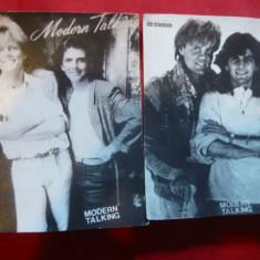 2 Fotografii cu membri formatiei Modern Talking, 8, 5x11, 5 cm - Fotografie