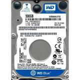 Hard disk notebook WD Blue WD5000LPCX, 500GB, SATA-III, 5400 RPM, cache 16MB - HDD laptop Western Digital, 500-999 GB, SATA 3