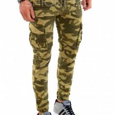Pantaloni camuflaj - COLECTIE NOUA - pantaloni barbati - 7864G3, Marime: 28, 32, 36, 38, Culoare: Din imagine