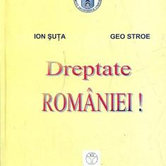 LICHIDARE-Dreptate Romaniei - Autor : Ion Suta, Geo Stroe - 130829 - Carte Politica