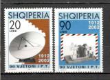 Albania.2002 90 ani Posta  SA.596, Nestampilat