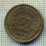 9240 MONEDA- FRANTA - 50 CENTIMES -anul 1941 -starea care se vede, Europa