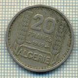 9296 MONEDA- ALGERIA COLONIE - 20 FRANCS -anul 1949 -starea care se vede, Europa