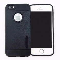 Husa TPU Water Cube Samsung Galaxy S7 Edge BLACK - Husa Telefon