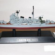 Macheta Crucisator Myoko - Japan 1944 scara 1:1100 - Macheta Navala