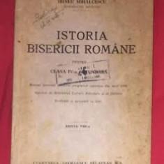 Istoria bisericii romane : pentru clasa IV-a secundara / Irineu Mihalcescu - Carti Istoria bisericii