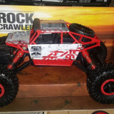 masinuta 32cm RC tractiune integrala telecomanda acumulator  ROCK Cr Trough