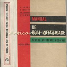 Manual De Boli Infectioase Pentru Asistente Medicale - E. Groza, R. Ionescu, Gh. - Carte Boli infectioase