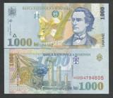 ROMANIA 1000 1.000 LEI  1998  UNC  [01]  Filigran  BNR  MIC - DREPT